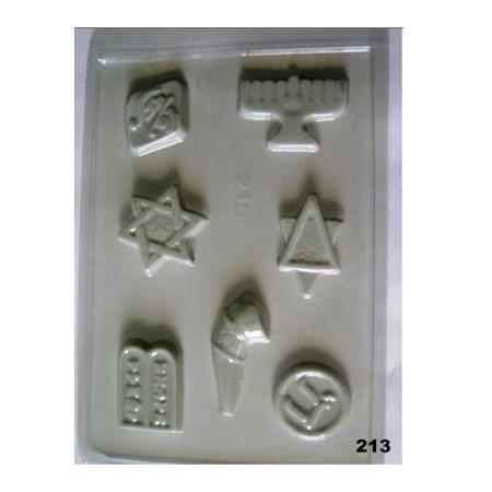 Forma chocolate Símbolos - 7 símbolos (213)