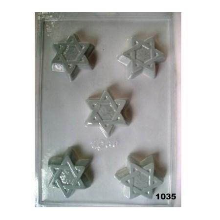 Forma chocolate Estrela - 5 Estrelas (1035)