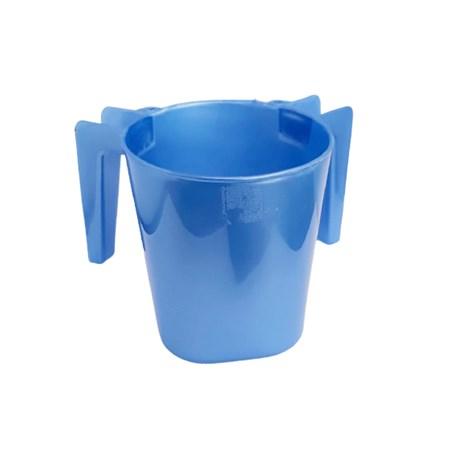 Caneca para lavar as mãos grande - Azul