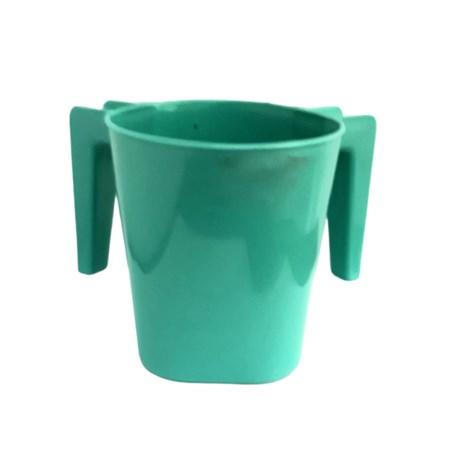 Caneca para lavar as mãos grande - Verde água