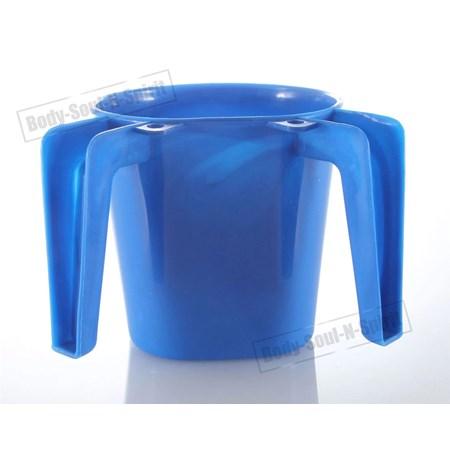 Caneca para lavar as mãos grande - Azul Claro