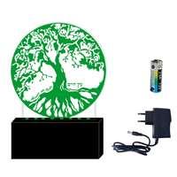 Luminária Árvore da vida - Verde