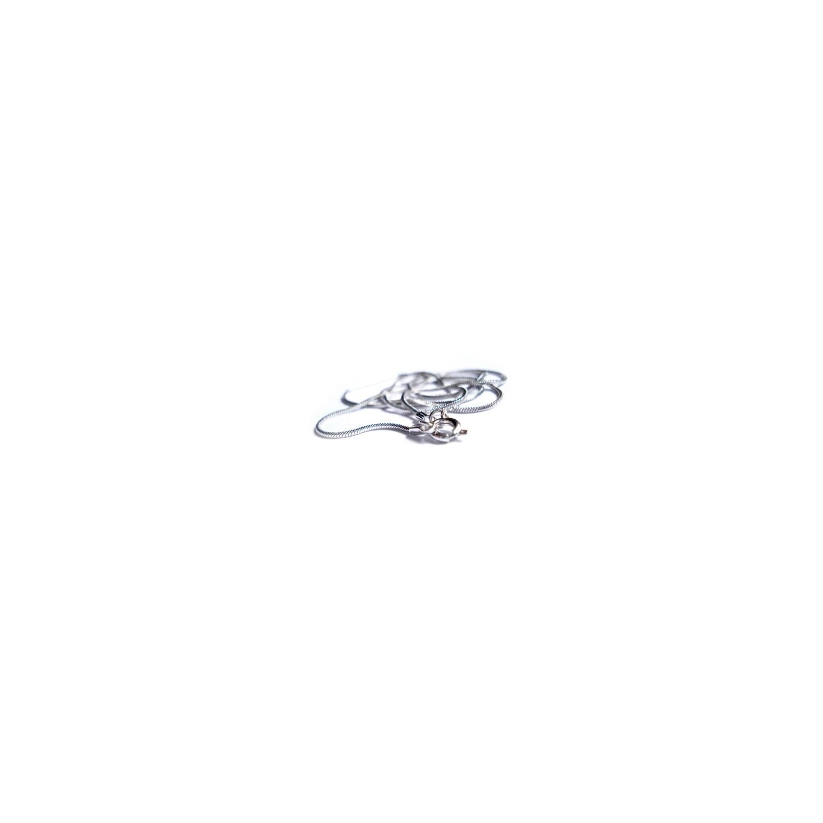 74a7ae46f Corrente rabo de rato fina de prata - Tamanho 40 cm. - Livraria Sêfer