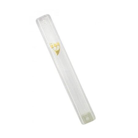 Mezuzá transparente (acrílico)