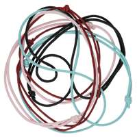Colar de nylon  regulável - Azul