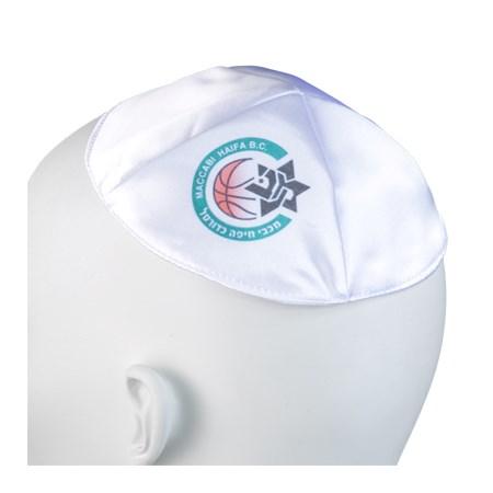 Kipá Maccabi Haifa B.C cetim