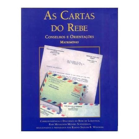 As Cartas do Rebe - Conselhos e Orientações - Matrimônio (Vol.1) Capa Azul
