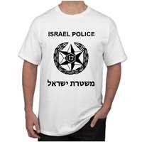 Camiseta Israel Police - Tamanho G