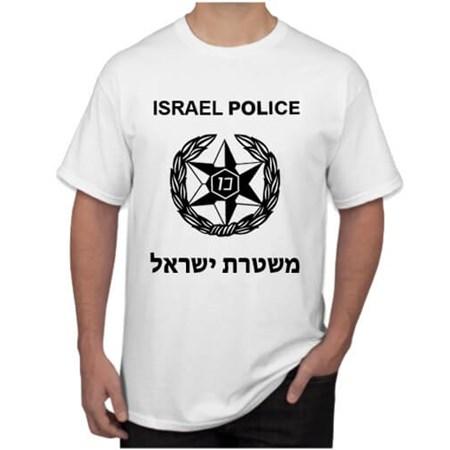 Camiseta Israel Police - Tamanho GG