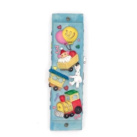 Mezuzá infantil brinquedos (Resina)
