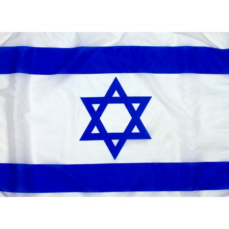 Bandeira de Israel - Tamanho 1,50m x 2,20m