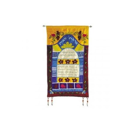 Banner com bênção da casa multicolor (EMANUEL)