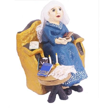Escultura Mãe Judia