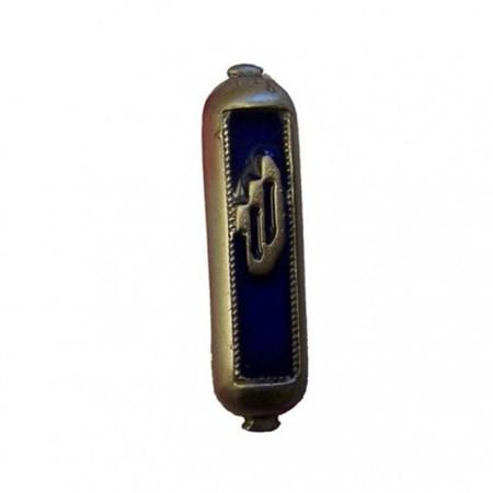 Mezuzá simbólica para carro azul