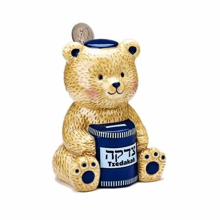 Caixa de Tsedacá Urso Teddy