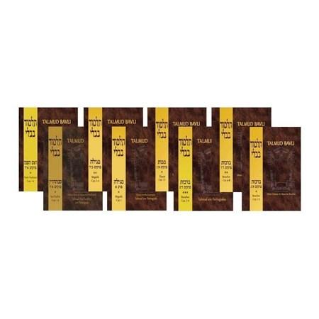 10 Volumes do Talmud Bavli