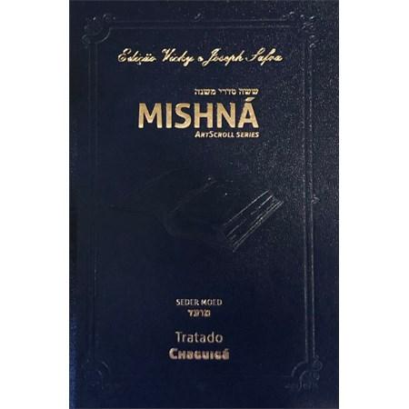 Mishná em hebraico e português - Ordem MOÊD - Tratado Chaguiga