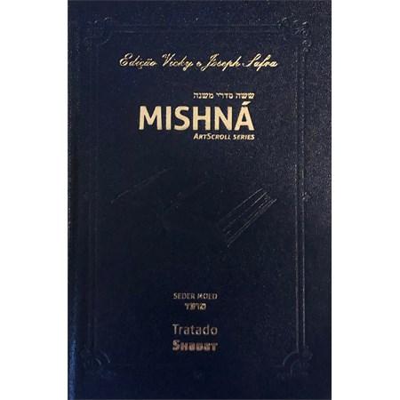 Mishná em hebraico e português - Ordem MOÊD - Tratado Shabat
