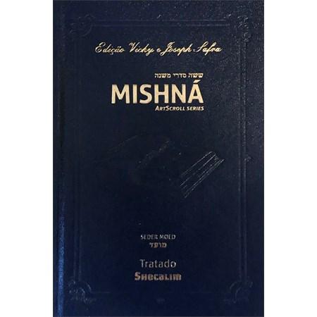 Mishná em hebraico e português - Ordem MOÊD - Tratado Shecalim