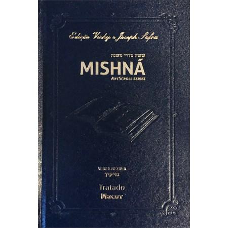 Mishná em hebraico e português - Ordem NEZIKIN - Tratado Macot