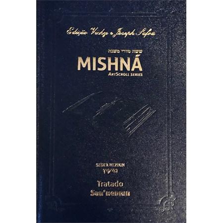 Mishná em hebraico e português - Ordem NEZIKIN - Tratado San'hedrin