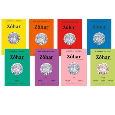 8 Volumes do Zôhar