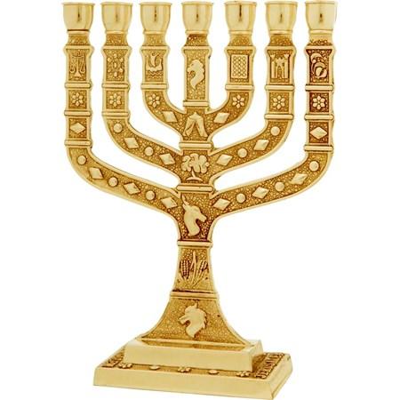 Menorá Knesset - Dourada