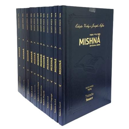 Coleção Mishná em hebraico e português - Ordem MOÊD